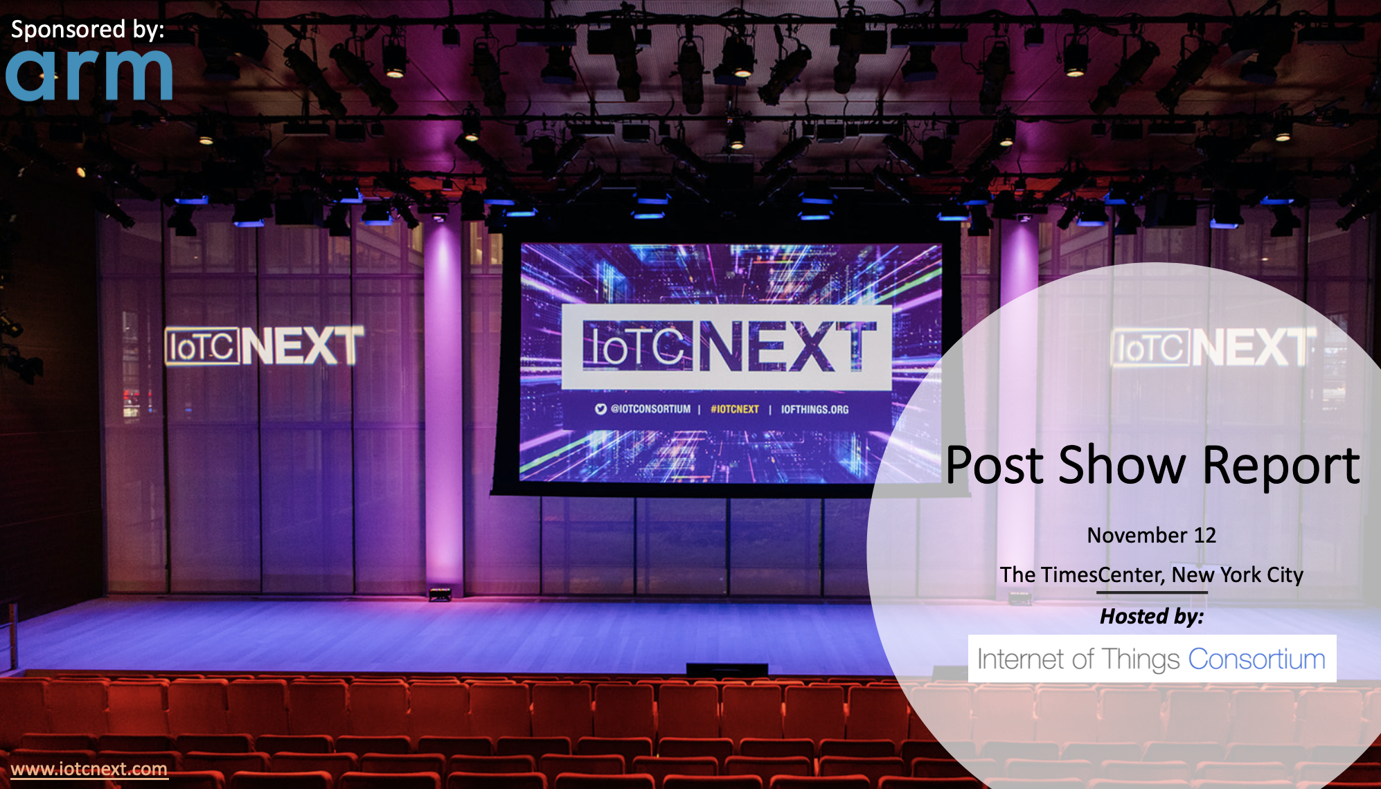 IoTC NEXT Post Show Report